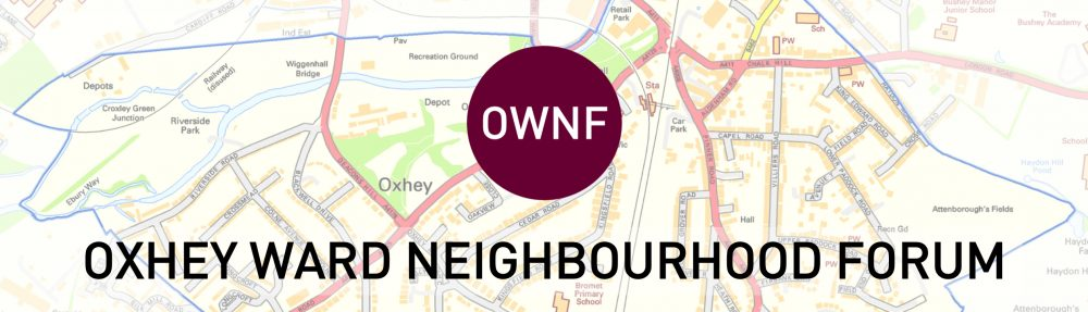 Oxhey Ward Neighbourhood Forum